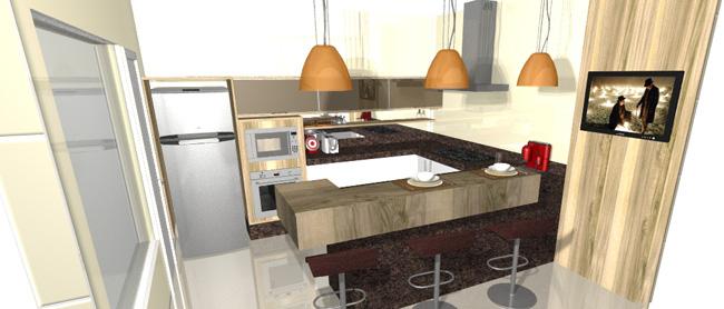 Bianca Sefidvash - Reserva Real - Paulinia SP 2013 - Cozinha e Dormitorio do Adolescente