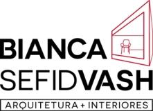 Logotipo Bianca Sefidvash Arquitetura+Interiores Por DeniCorsino_DesignVisivo_2016