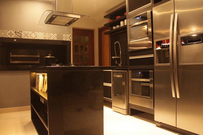 R Sefidvash - Projeto Interiores -Cozinha Gourmet- Casa Zona Sul - Porto Alegre