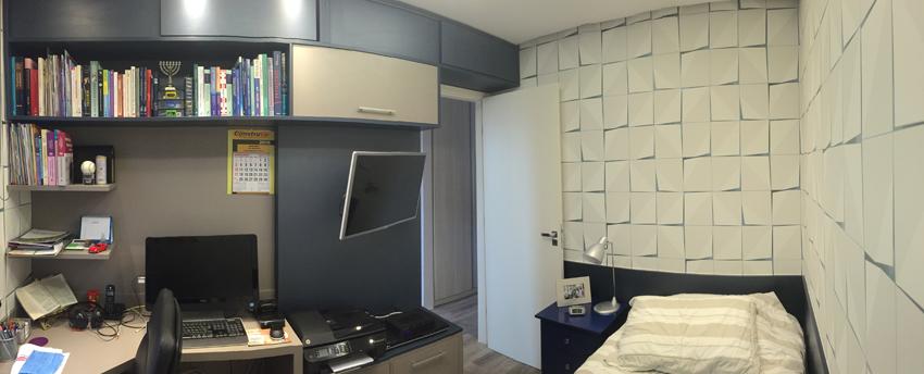 Dormitório- Parque Jambeiro- Bianca Sefidvash Arquitetura e Interiores